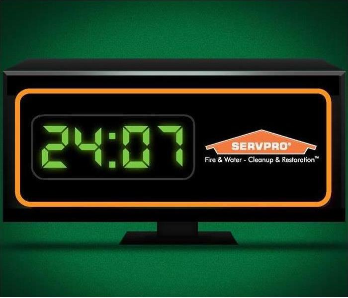 Water Damage SERVPRO of Savannah is available 24 hours a day