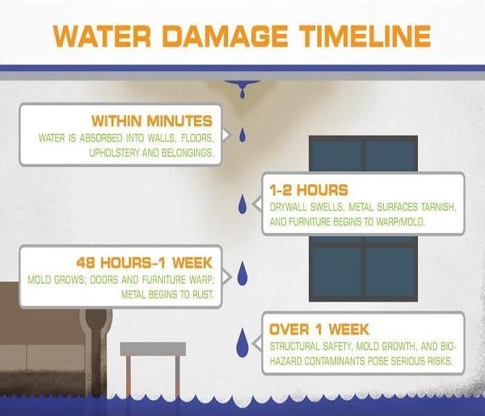 Water Damage Water Damage Timeline