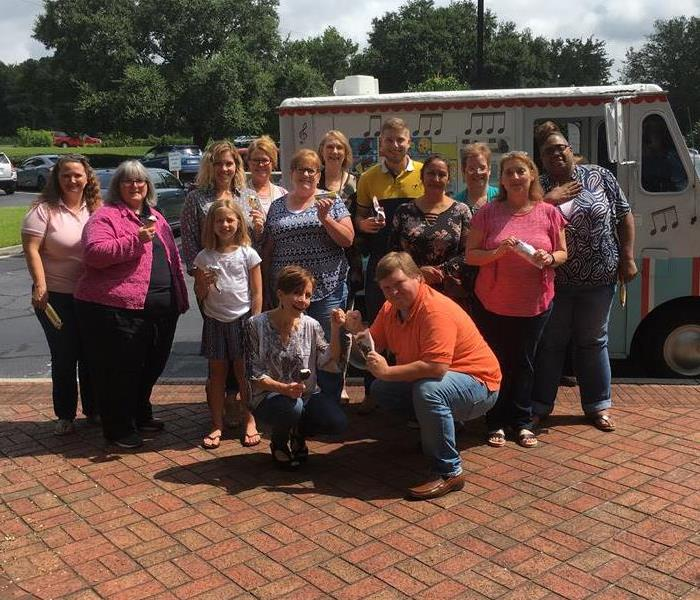 Why SERVPRO Ice cream truck bring smiles to faces